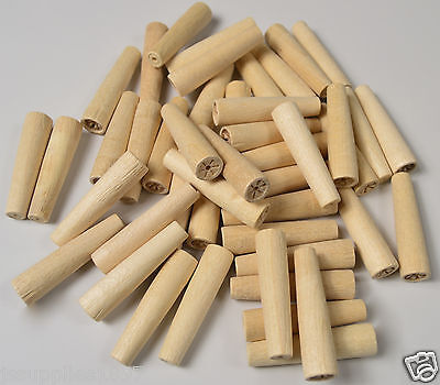 WOODEN HARD PEGS NON POROUS SPILES QTY 500. cask beer real ale home brew