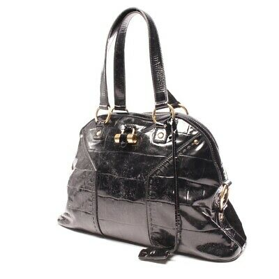 Patente Para Bolso Mujer Laurent Saint Yves Negro Muse wwPH08nq