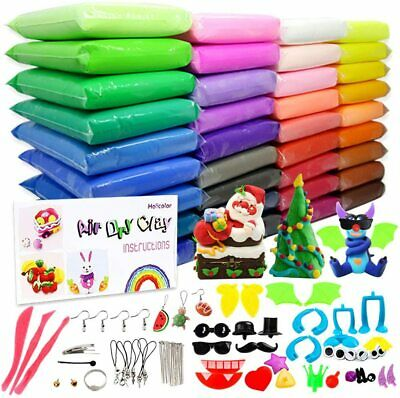 Air Dry Clay,Diy 36 Colors Ultra Light Modeling Clay Magic Crafts Kit Szsrcywd