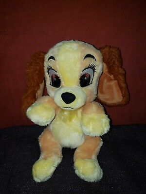 Disney Parks Babies Lady And The Tramp Lady 11 Inch Plush Toy Doll No Blanket
