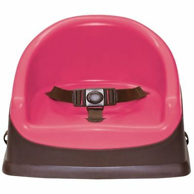 Prince Lionheart Cushiony Booster Pod Flashbulb Fuschia/ Chocolate  Baby Seat