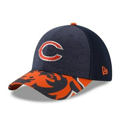 399f50d9d Chicago Bears New Era 2017 NFL Draft On Stage 39THIRTY Flex Hat - Navy