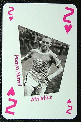 #8d Steve Ovett London 2012 Olympic Legend Game / Playing Card Athletics