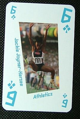 Athletics #8d London 2012 Olympic Legend Game / Playing Card Steve Ovett