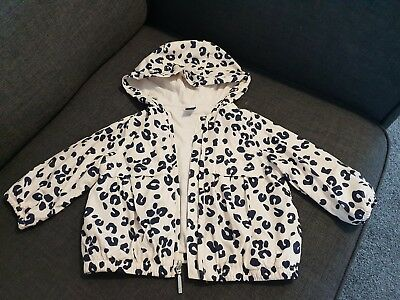 Girls Age 6  - 12 Months Jacket Coat Baby Gap Excellent Condition