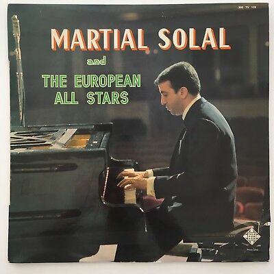 "Original 1961 Martial Solal And The European All Stars‎ - 33T/12"" - (300 TV 128)"