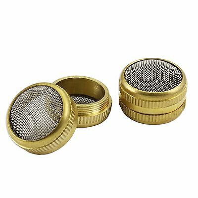 Brass basket parts holder ultrasonic cleaning mesh screw type watch tool 16mm