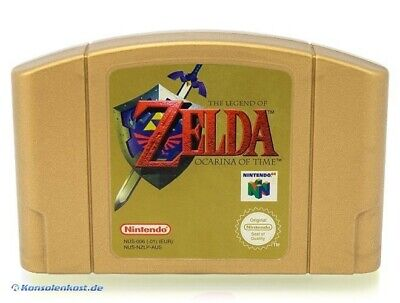 N64 Spiel - The Legend of Zelda: Ocarina of Time #Collector's Edition Modul