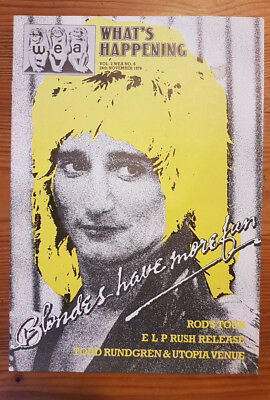 Rod Stewart cover WEA What's Happening Vol 2 #6 1978