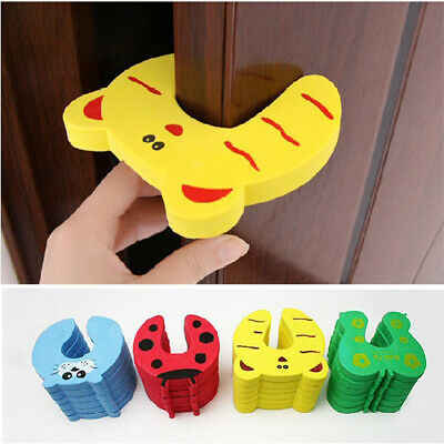5 x Baby Child Kids Animal Door Stopper Jammer Safety Finger Protector Guard UK