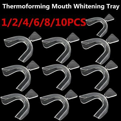 Transparent Thermoforming Mouth Whitening Trays Dental Teeth Dental Equipment G0
