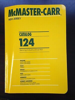 Mcmaster Carr Catalog 124 New Jersey Edition