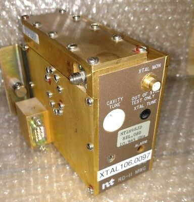 Nortel RD-11 MWG Tunable Microwave Oscillator ~ to 11GHz ~ Frequency Source