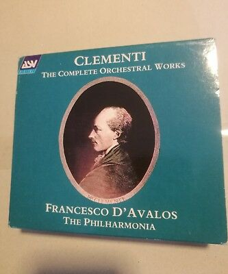Clementi The Complete Orchestral Works 3Cd Like New Condition