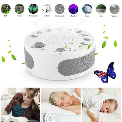 White Noise Sound Baby Sleep Therapy Regulator w/ 9 Soothing Sound Sleeping V5