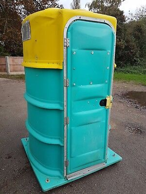 Portable site toilet loo for car boot , building sites