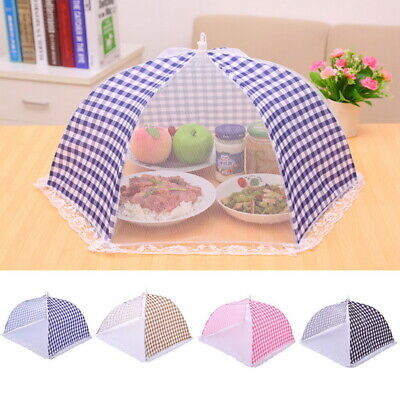 Kitchen Food Cover Tent Umbrella Outdoor Camp Cake Covers Mesh Net Mosquito GW