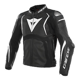 Dainese Mugello Perforated Leather Jacket Black 50