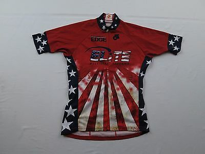 5af0f5dc6 CHAMP SYS WOMENS Elite Multisport Coaching USA Flag Sz S Bike Cycling Jersey  MTB - EUR 10