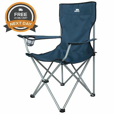 Trespass Settle Folding Camping Chair Picnic Seat Free Next Day Delivery