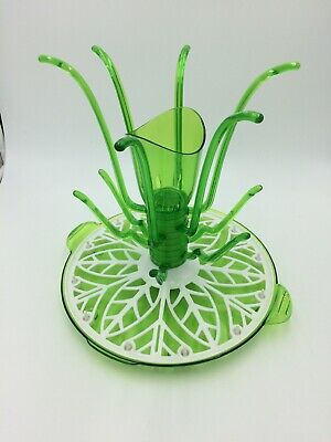 Munchkin Sprout Drying Rack spins, holds 12 bottles