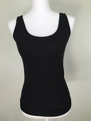 13130e7988 MEY Women s Size US M Sz 8 Organic Cotton Knit Black Tank Top Made in  Germany