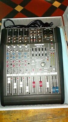 Mackie cfx 6 mixing desk  digital fx fully working power lead and flight case
