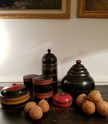 Chinese Design Pots with Authentic Antique Lanzhou Etched Gourds