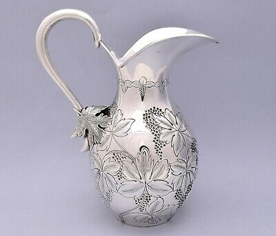 Beautiful Solid Silver Pitcher