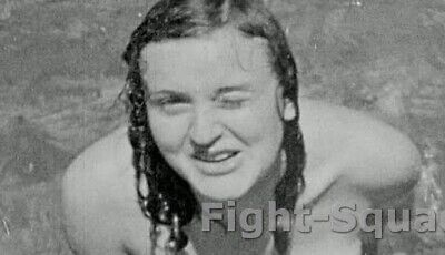 WW2 Picture Photo Rare photo of Eva Braun 3171