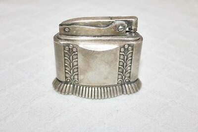 """Vintage Silverplate Ronson """"DIANA"""" Table Lighter in Working Condition"""
