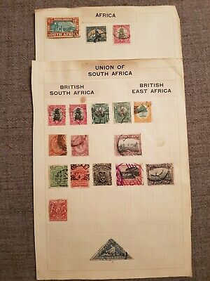 British South Africa Company stamps Union and East Africa Empire stamps GV