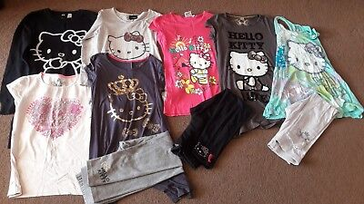 Lovely Girls Hello Kitty Clothes Bundle Inc Marks And Spencer Top And...