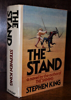 Stephen King THE STAND 1st Edition Hardcover 1978 T39 NF/NF Unclipped GORGEOUS