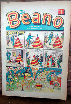 BEANO COMIC No. 1216 from 1965 - Fireworks issue
