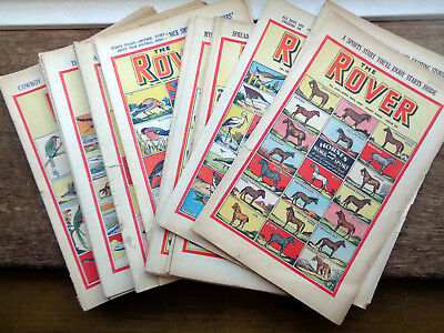 Rover comics first ever Alf Tupper The Tough of the Track, complete first series