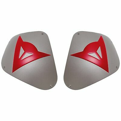 Dainese Aluminum Sport Shoulder Plate Kit Red Logo