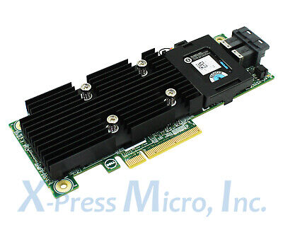 DELL X4TTX PERC H730P 12GB/s PCI-E RAID CONTROLLER CARD 2GB CACHE WITH  BATTERY