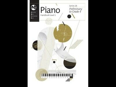 AMEB Piano Series 18 Handbook Level 1 (Preliminary to Grade 4) 1201104039
