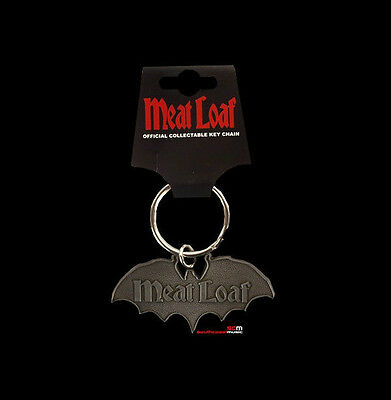 Meatloaf Bat Out Of Hell Key Ring Chain Fob Official Licenced Keyring Keychain