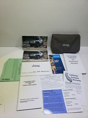 2017 Jeep Wrangler Owners Manual Set OEM with Case Free Shipping