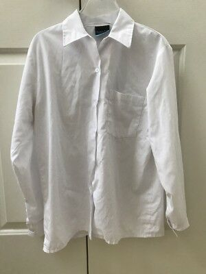 Hornsby Girls High School - Junior Winter Uniform - 2 x White Blouse - Size 14