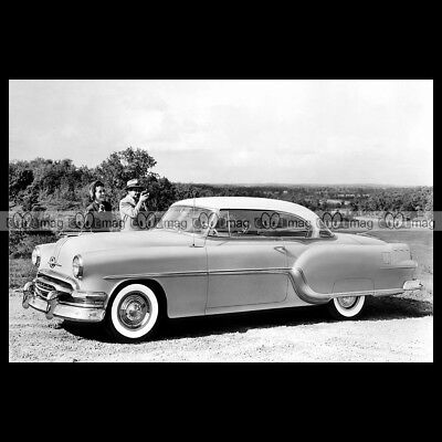 #pha.009518 Photo PONTIAC STAR CHIEF CUSTOM CATALINA COUPE 1954 Car Auto