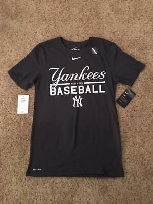 Men s Nyc New York Yankees Dri Fit T Shirt Nike Athletic Cut Baseball Mlb 56499b5ea1da