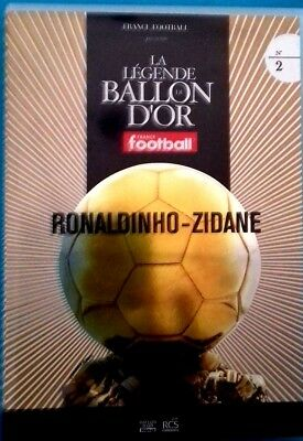 DVD die Legende der ball D'OR RONALDINHO - ZIDANE Ref 0507