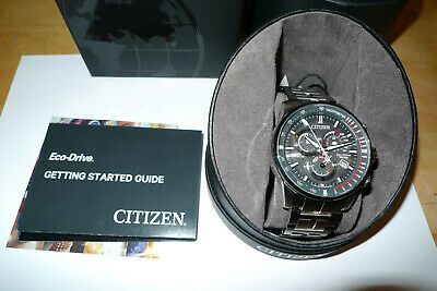 Citizen Eco-Drive AT4129-57H PCAT Radio Controlled Dark Grey Dial Men's Watch