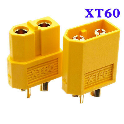 Hot Sell 5pairs Set XT60 female / male bullet Connectors for RC Battery L5H1 Set