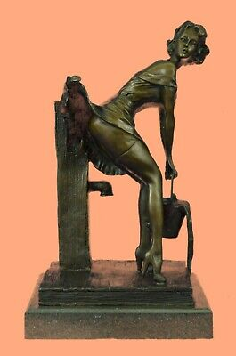 Bronze Sculpture Nude Woman by German Artist Preiss Hand Made Museum Quality