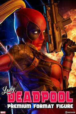 Lady Deadpool Premium Format Figure Statue EXCLUSIVE by Sideshow Collectibles