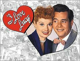 I Love Lucy Vintage Tin Metal Sign Garage/Man Cave Wall Art
